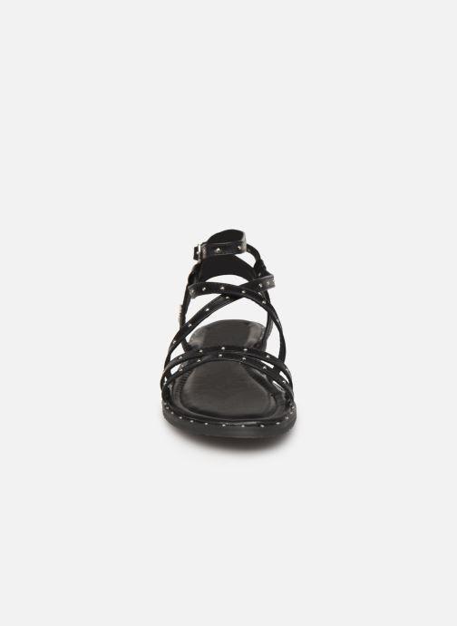 Sandales et nu-pieds Kaporal Suzy Noir vue portées chaussures