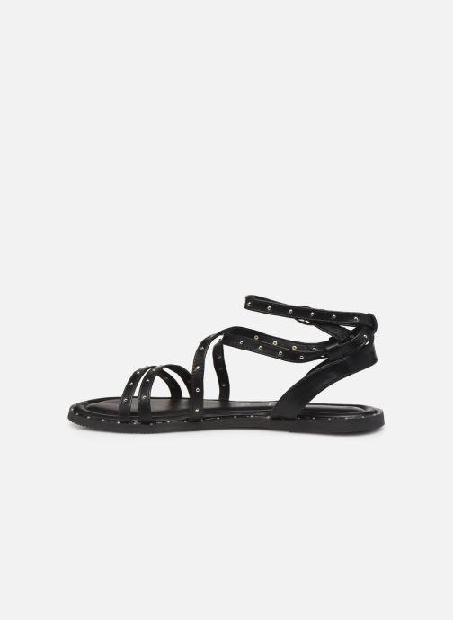 Sandales et nu-pieds Kaporal Suzy Noir vue face