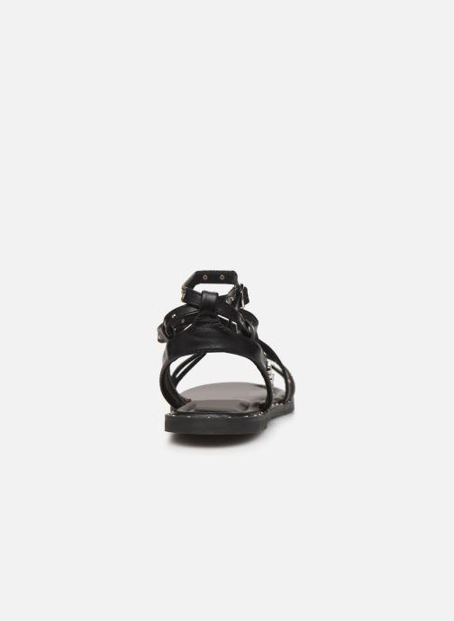 Sandales et nu-pieds Kaporal Suzy Noir vue droite