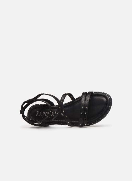 Sandali e scarpe aperte Kaporal Suzy Nero immagine sinistra