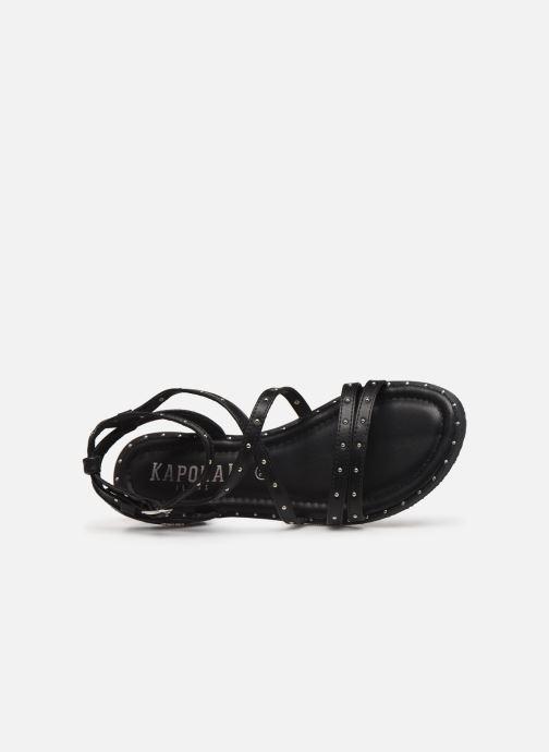 Sandales et nu-pieds Kaporal Suzy Noir vue gauche
