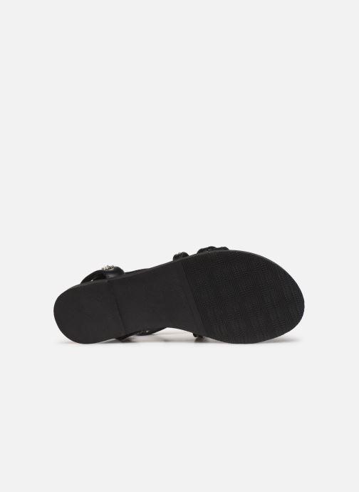 Sandales et nu-pieds Kaporal Suzy Noir vue haut
