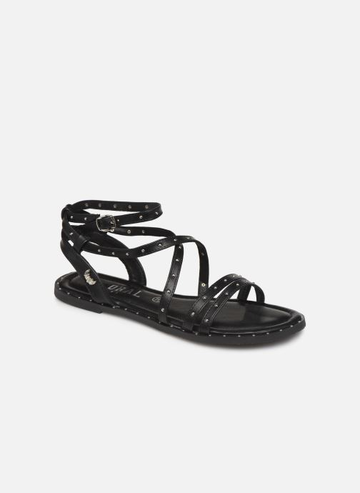 Sandals Kaporal Suzy Black detailed view/ Pair view