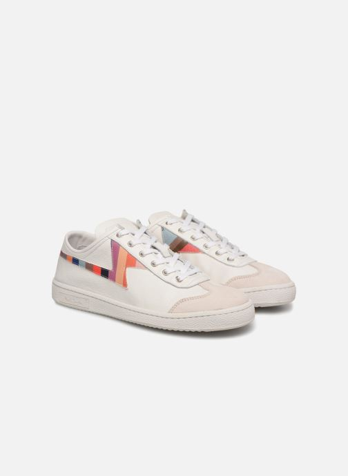 Baskets PS Paul Smith Ziggy Womens Shoes Blanc vue 3/4