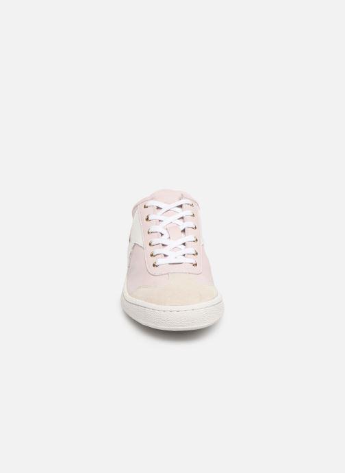 Baskets PS Paul Smith Ziggy Womens Shoes Rose vue portées chaussures