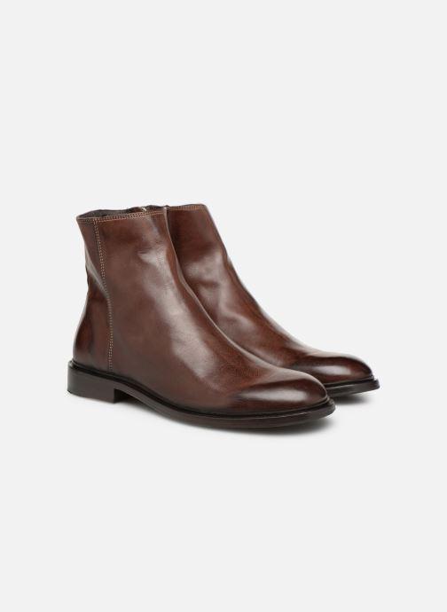 Bottines et boots PS Paul Smith Billy Marron vue 3/4