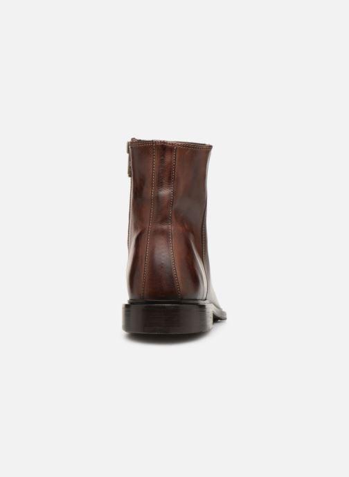 Bottines et boots PS Paul Smith Billy Marron vue droite