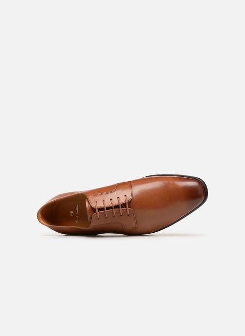 Chaussures à lacets PS Paul Smith Daniel Marron vue gauche