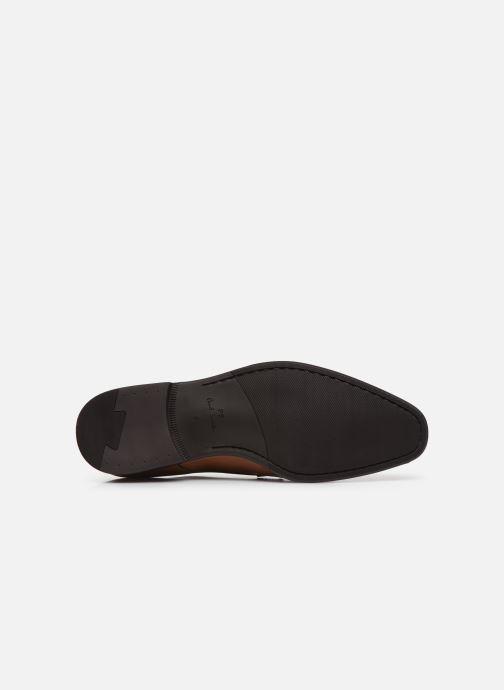 Chaussures à lacets PS Paul Smith Daniel Marron vue haut