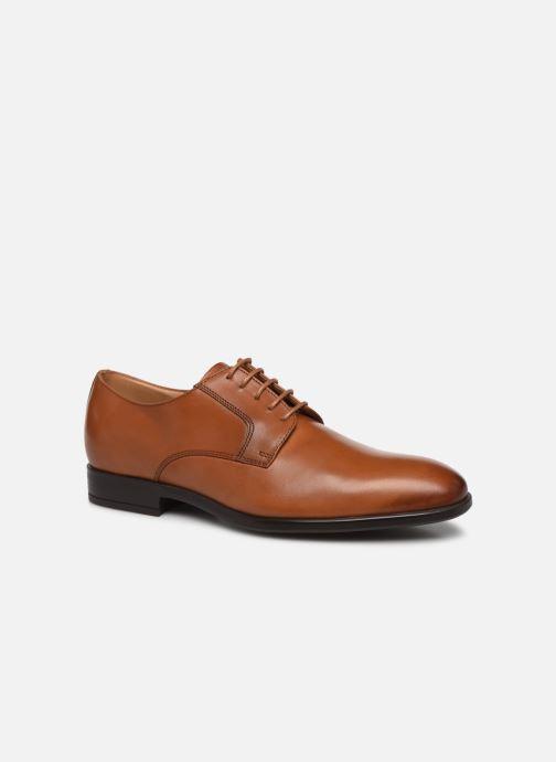 Chaussures à lacets PS Paul Smith Daniel Marron vue détail/paire