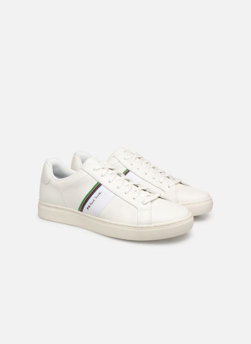 Baskets PS Paul Smith Rex Blanc vue 3/4