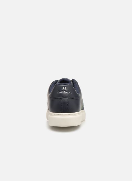 Baskets PS Paul Smith Rex Bleu vue droite