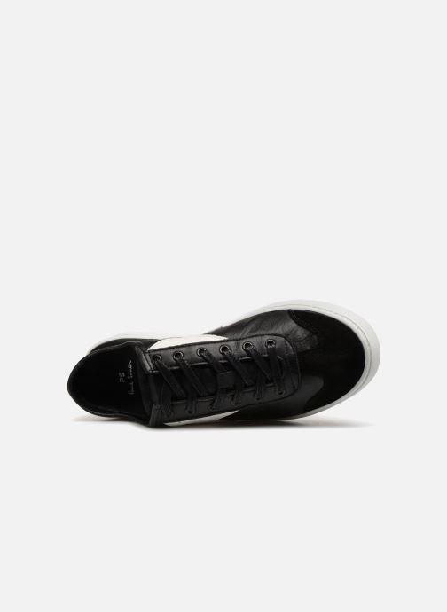 Baskets PS Paul Smith Ziggy Mens Shoes Noir vue gauche