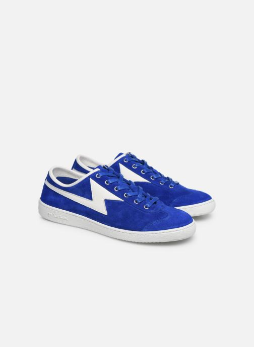 Baskets PS Paul Smith Ziggy Mens Shoes Bleu vue 3/4