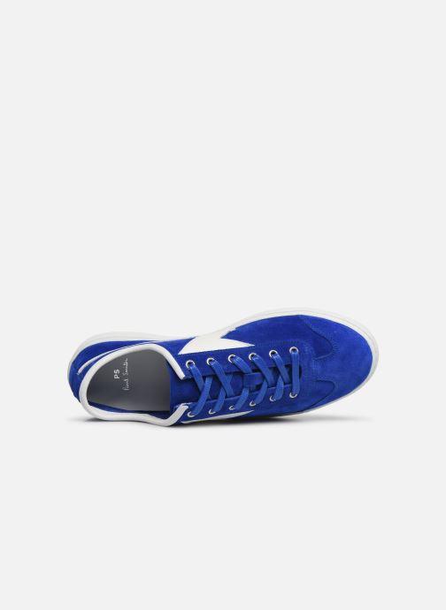 Baskets PS Paul Smith Ziggy Mens Shoes Bleu vue gauche