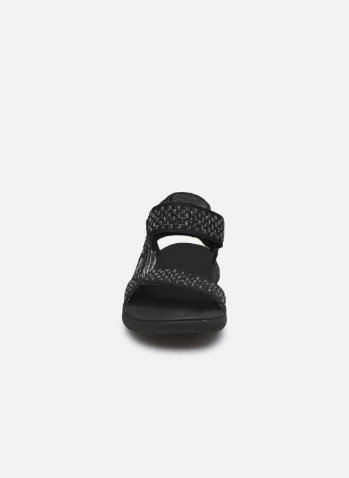 Sandales et nu-pieds Teva Terra-Float 2 Knit Noir vue portées chaussures