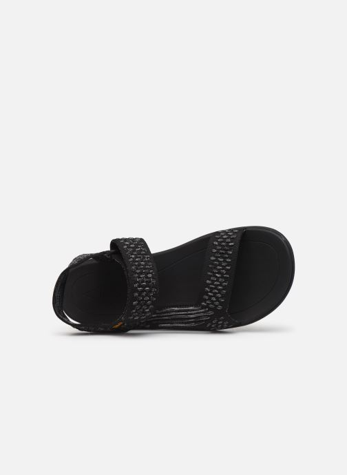 Sandales et nu-pieds Teva Terra-Float 2 Knit Noir vue gauche