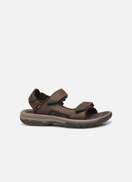 Sandales et nu-pieds Teva Langdon Sandal Marron vue derrière