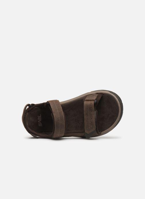 Sandales et nu-pieds Teva Langdon Sandal Marron vue gauche