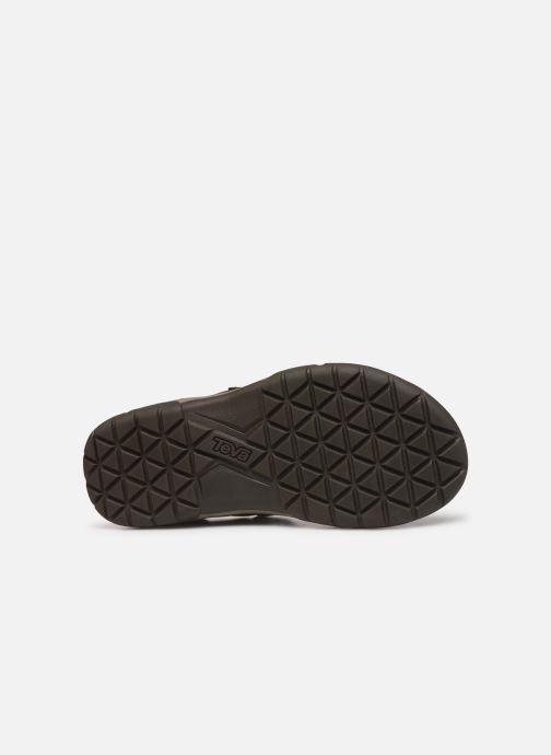 Sandales et nu-pieds Teva Langdon Sandal Marron vue haut