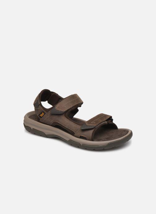 Sandales et nu-pieds Teva Langdon Sandal Marron vue détail/paire