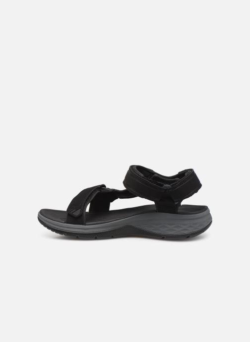 Sandalen Teva Strata Universal schwarz ansicht von vorne