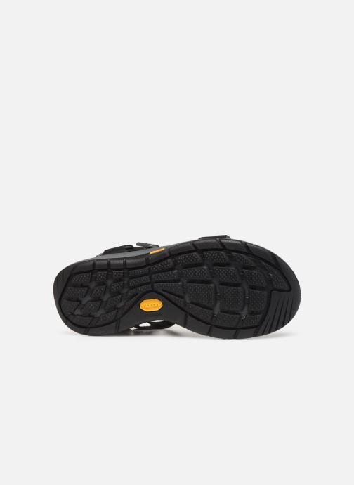 Sandalen Teva Strata Universal schwarz ansicht von oben