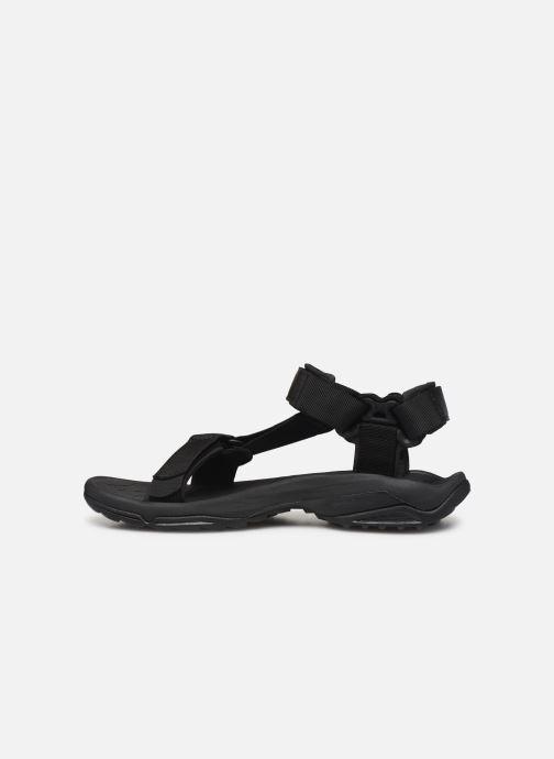 Sandalen Teva Terra Fi Lite schwarz ansicht von vorne