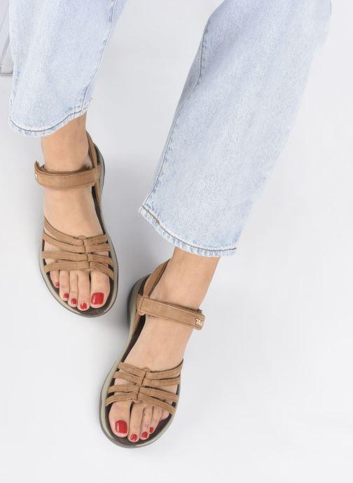 Sandales et nu-pieds Teva Elzada Sandal LEA Marron vue bas / vue portée sac