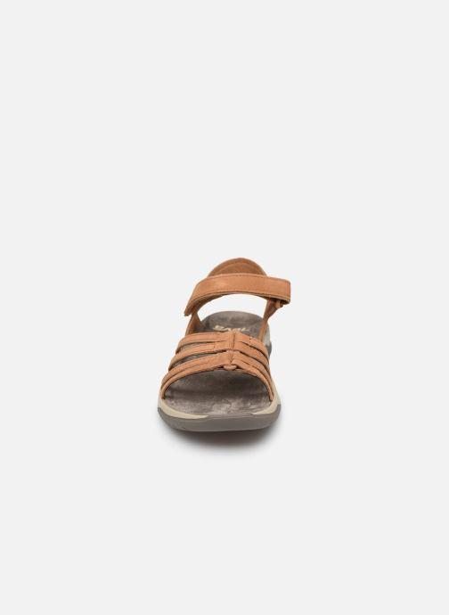 Sandales et nu-pieds Teva Elzada Sandal LEA Marron vue portées chaussures