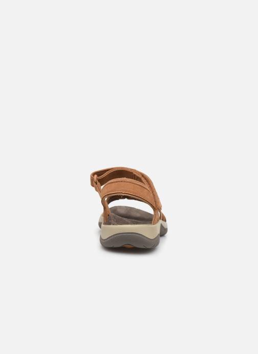 Sandales et nu-pieds Teva Elzada Sandal LEA Marron vue droite