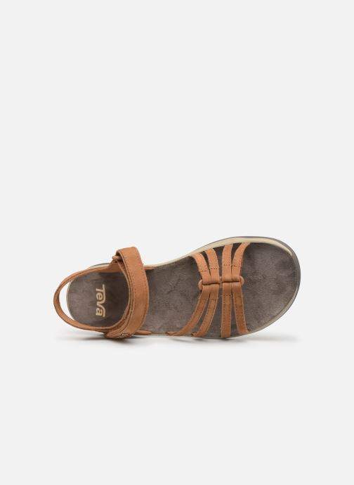 Sandales et nu-pieds Teva Elzada Sandal LEA Marron vue gauche