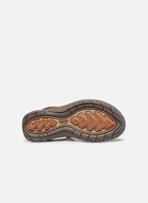 Sandales et nu-pieds Teva Elzada Sandal LEA Marron vue haut