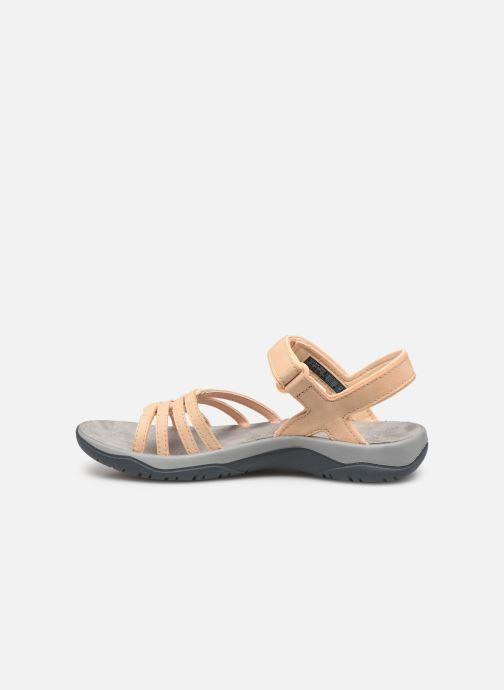 Sandales et nu-pieds Teva Elzada Sandal LEA Beige vue face