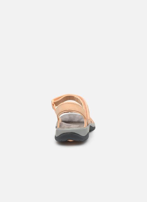 Sandales et nu-pieds Teva Elzada Sandal LEA Beige vue droite