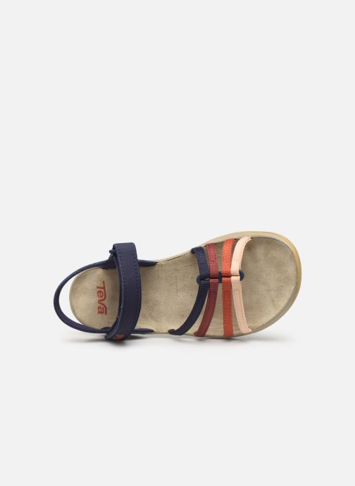 Sandales et nu-pieds Teva Elzada Sandal WEB Multicolore vue gauche