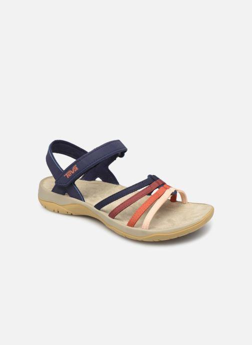 Sandales et nu-pieds Teva Elzada Sandal WEB Multicolore vue détail/paire