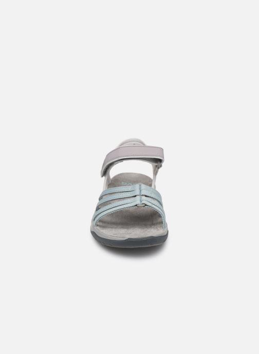 Sandales et nu-pieds Teva Elzada Sandal WEB Gris vue portées chaussures
