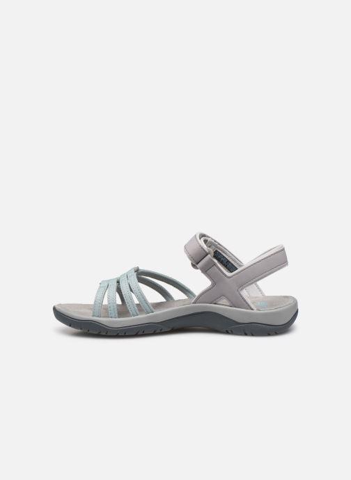 Sandales et nu-pieds Teva Elzada Sandal WEB Gris vue face