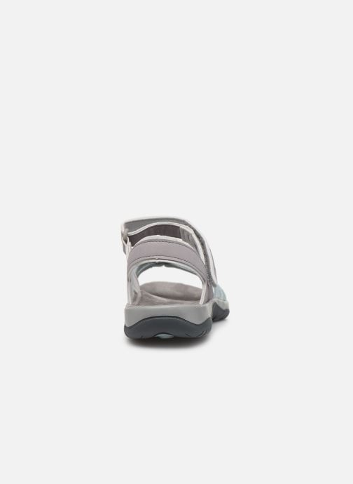 Sandals Teva Elzada Sandal WEB Grey view from the right