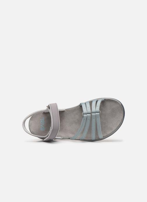 Sandales et nu-pieds Teva Elzada Sandal WEB Gris vue gauche