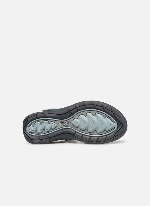 Sandales et nu-pieds Teva Elzada Sandal WEB Gris vue haut