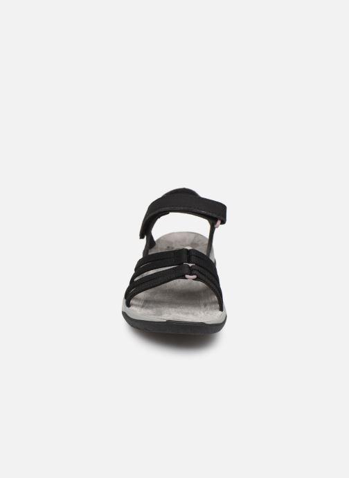 Sandales et nu-pieds Teva Elzada Sandal WEB Noir vue portées chaussures