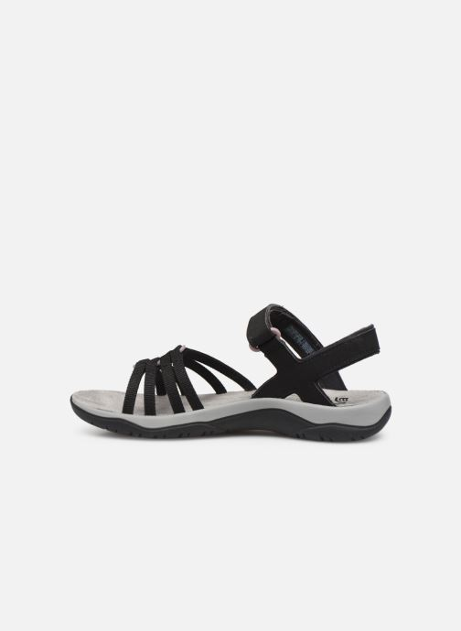 Sandales et nu-pieds Teva Elzada Sandal WEB Noir vue face