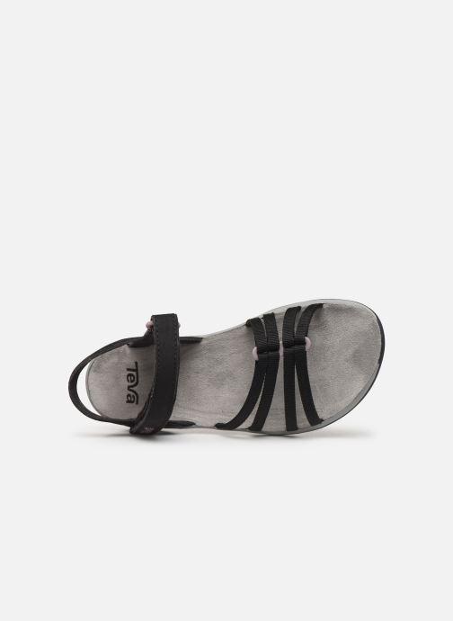 Sandales et nu-pieds Teva Elzada Sandal WEB Noir vue gauche