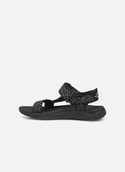 Sandales et nu-pieds Teva Terra-Float 2 Knit W Noir vue face