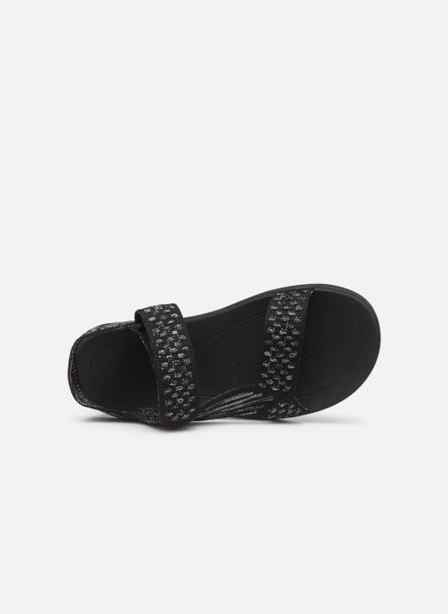 Sandals Teva Terra-Float 2 Knit W Black view from the left