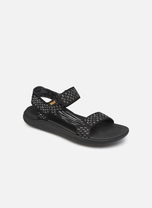Sandals Teva Terra-Float 2 Knit W Black detailed view/ Pair view