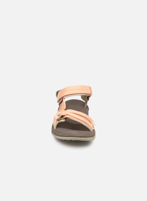Sandales et nu-pieds Teva Terra Fi Lite Beige vue portées chaussures