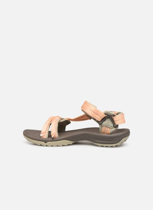 Sandales et nu-pieds Teva Terra Fi Lite Beige vue face